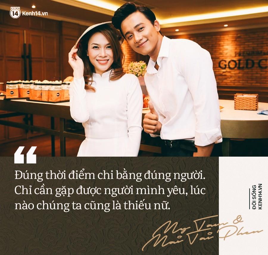 """Chuyện tình chị Tâm anh Phến: """"Tuổi tác có gì đâu quan trọng, độc thân gặp nhau thì để họ yêu nhau đi"""" - Ảnh 3."""
