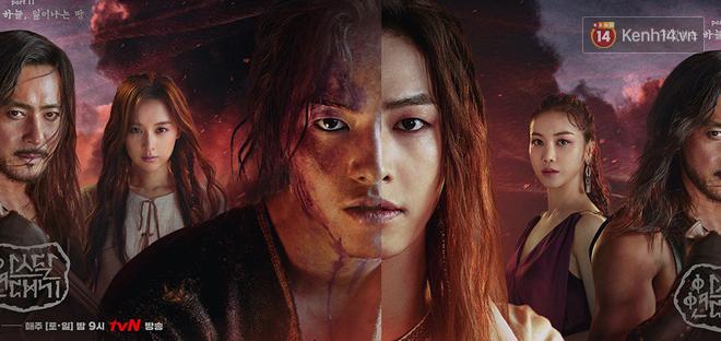 Niên Sử Kí Arthdal công bố poster phần 2, Song Joong Ki phiên bản diễm tình đẹp lấn át bản thổ dân - Ảnh 2.