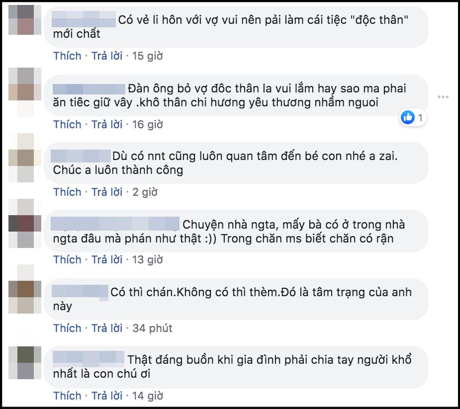 Vừa ly hôn vợ đã tổ chức tiệc độc thân ăn mừng, Việt Anh hứng gạch đá dữ dội từ netizen - Ảnh 2.