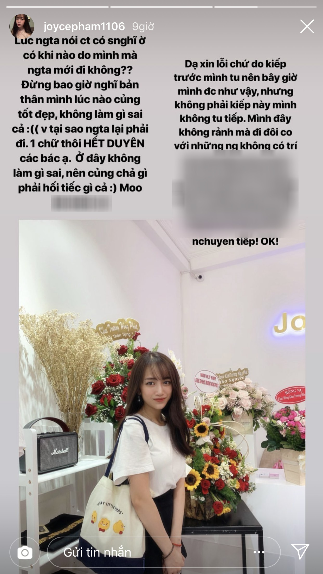 Con gái đại gia Minh Nhựa vừa hot trên Instagram đã bị người yêu cũ lập hội nói xấu? - Ảnh 4.