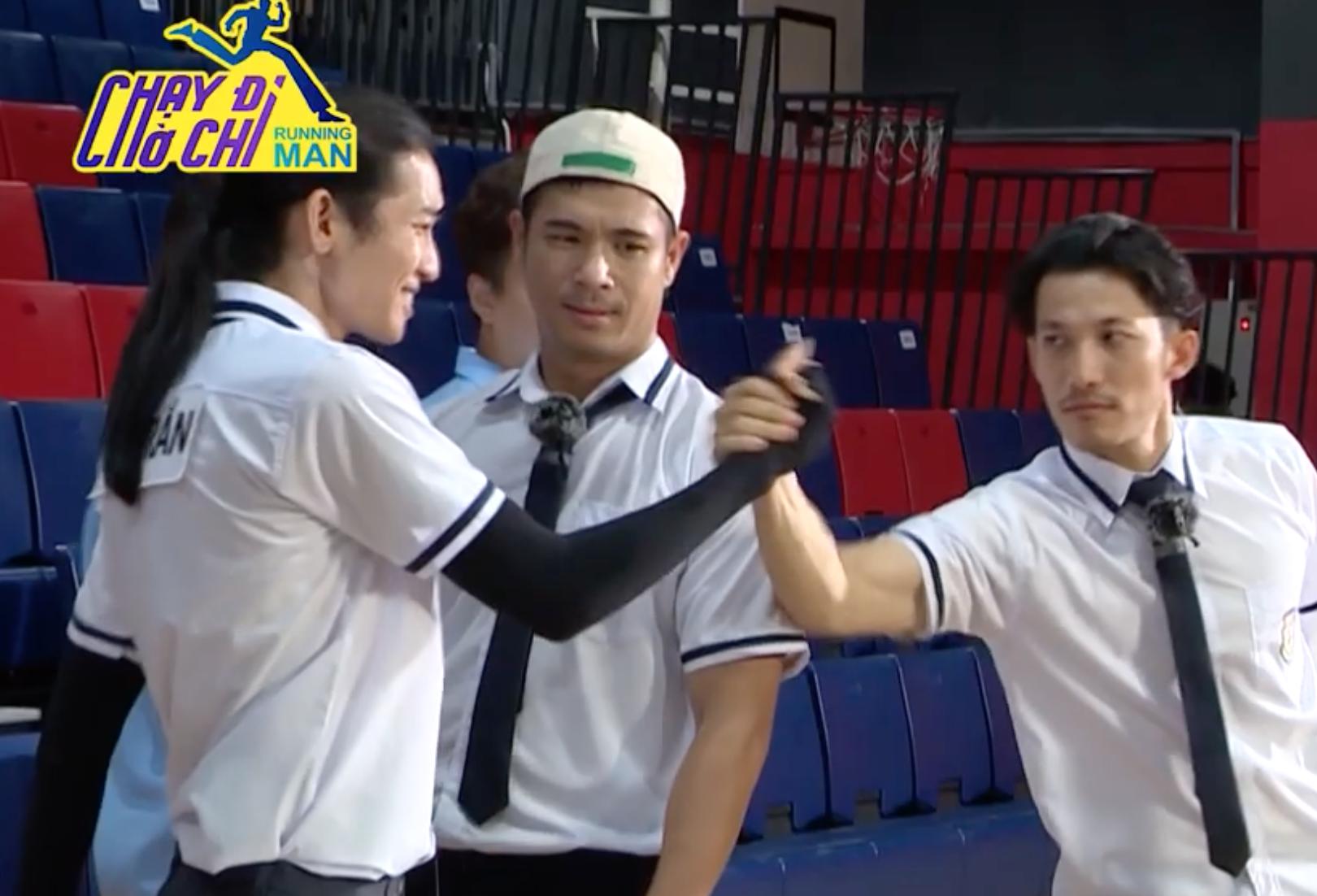 Running Man: Jun Phạm thở dốc khiến BB Trần lo lắng, Ngô Kiến Huy gọi người hô hấp nhân tạo - Ảnh 3.
