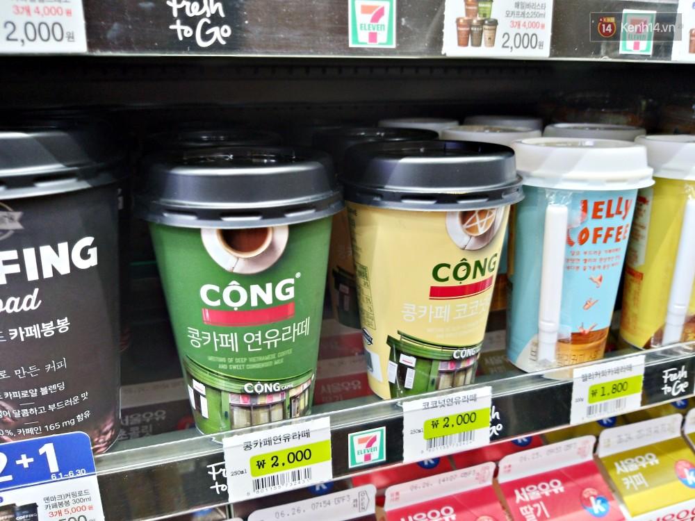 Bất ngờ cà phê Cộng đóng hộp được 7Eleven ở Hàn Quốc bày bán rộng rãi - Ảnh 3.