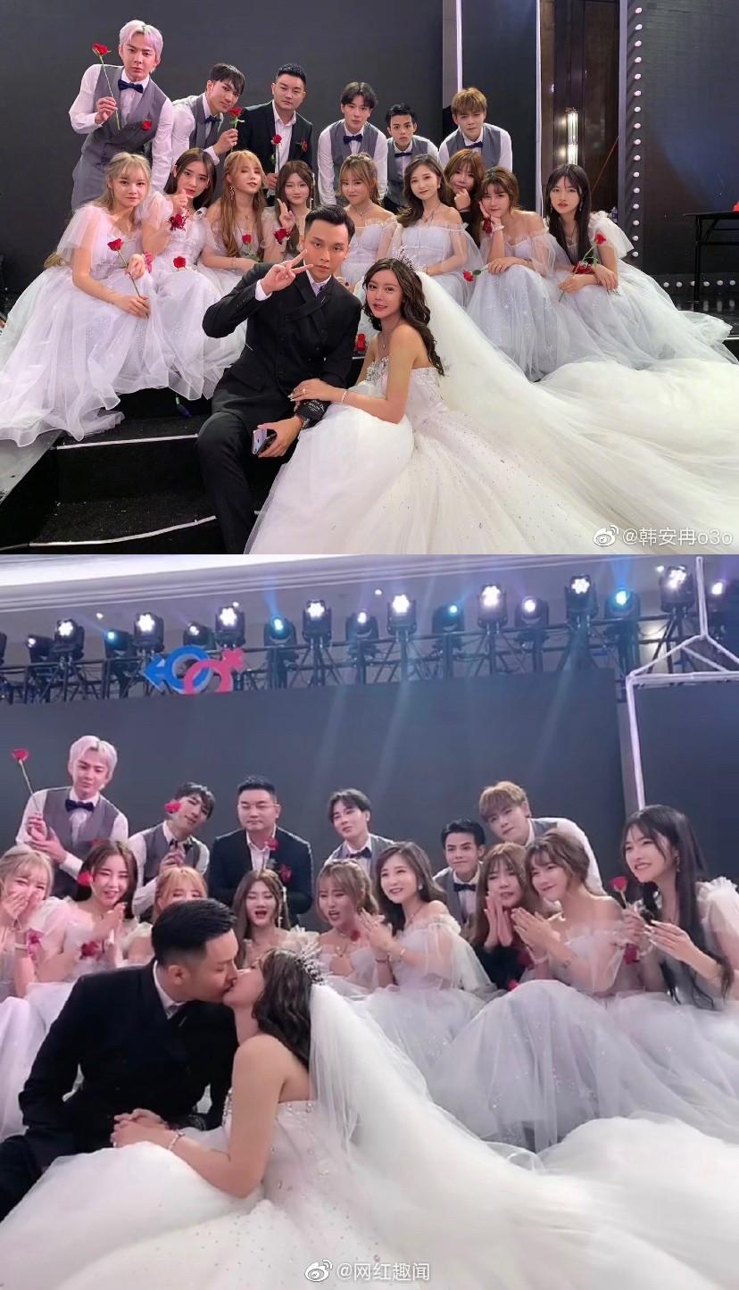 Ngã ngửa hôn lễ của mẫu nữ xứ Trung: Nhan sắc thảm họa từ cô dâu đến khách mời toàn hotgirl Weibo bị bóc trần - Ảnh 19.