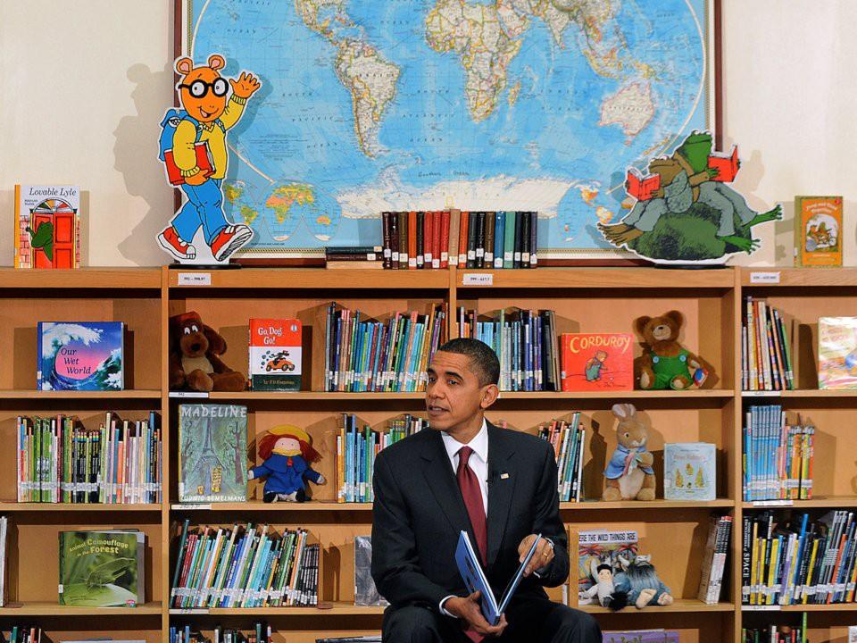 Ông Obama đã quyên tặng toàn bộ số lợi nhuận sau thuế thu được từ cuốn sách viết cho thiếu nhi của mình, nhan đề