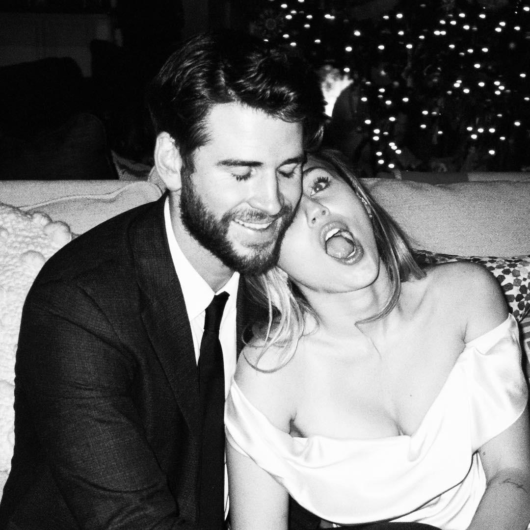 Cặp đôi vàng của làng Instagram Liam và Miley Cyrus đốn tim fan bằng những khoảnh khắc trẩu tre hết cỡ - Ảnh 5.