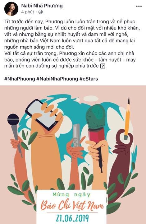 Quốc Trường, Ninh Dương Lan Ngọc, Nhã Phương cùng nhiều sao Việt tưng bừng chúc mừng ngày Báo chí Cách mạng Việt Nam 21/6 - Ảnh 5.