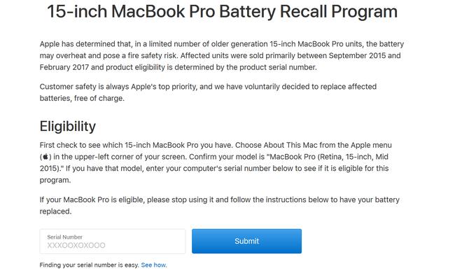 Apple xác nhận MacBook Pro có thể phát nổ do lỗi pin: Đây là cách kiểm tra máy bạn có bị ảnh hưởng hay không - Ảnh 2.