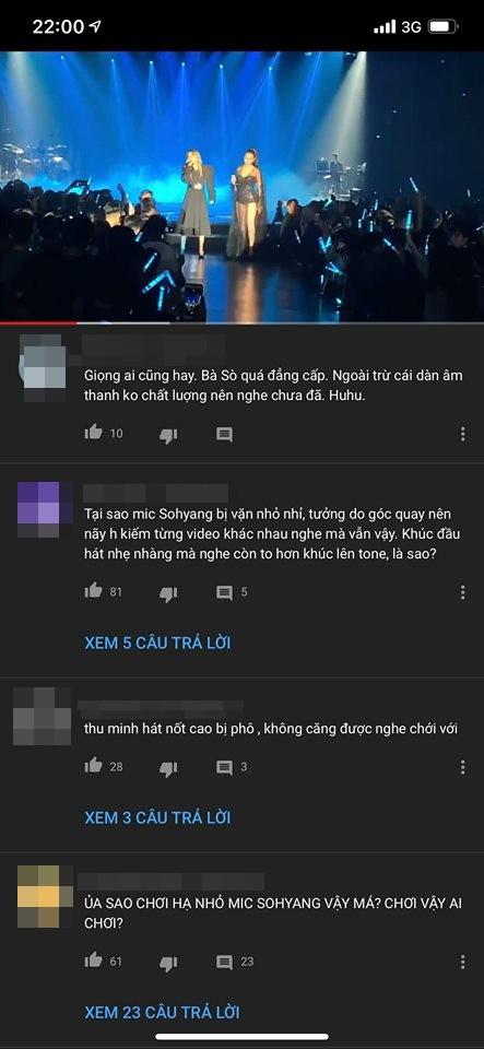 Dân mạng tố: Thu Minh cố tình vặn nhỏ mic, dìm hàng So Hyang trong màn đọ giọng? - Ảnh 2.