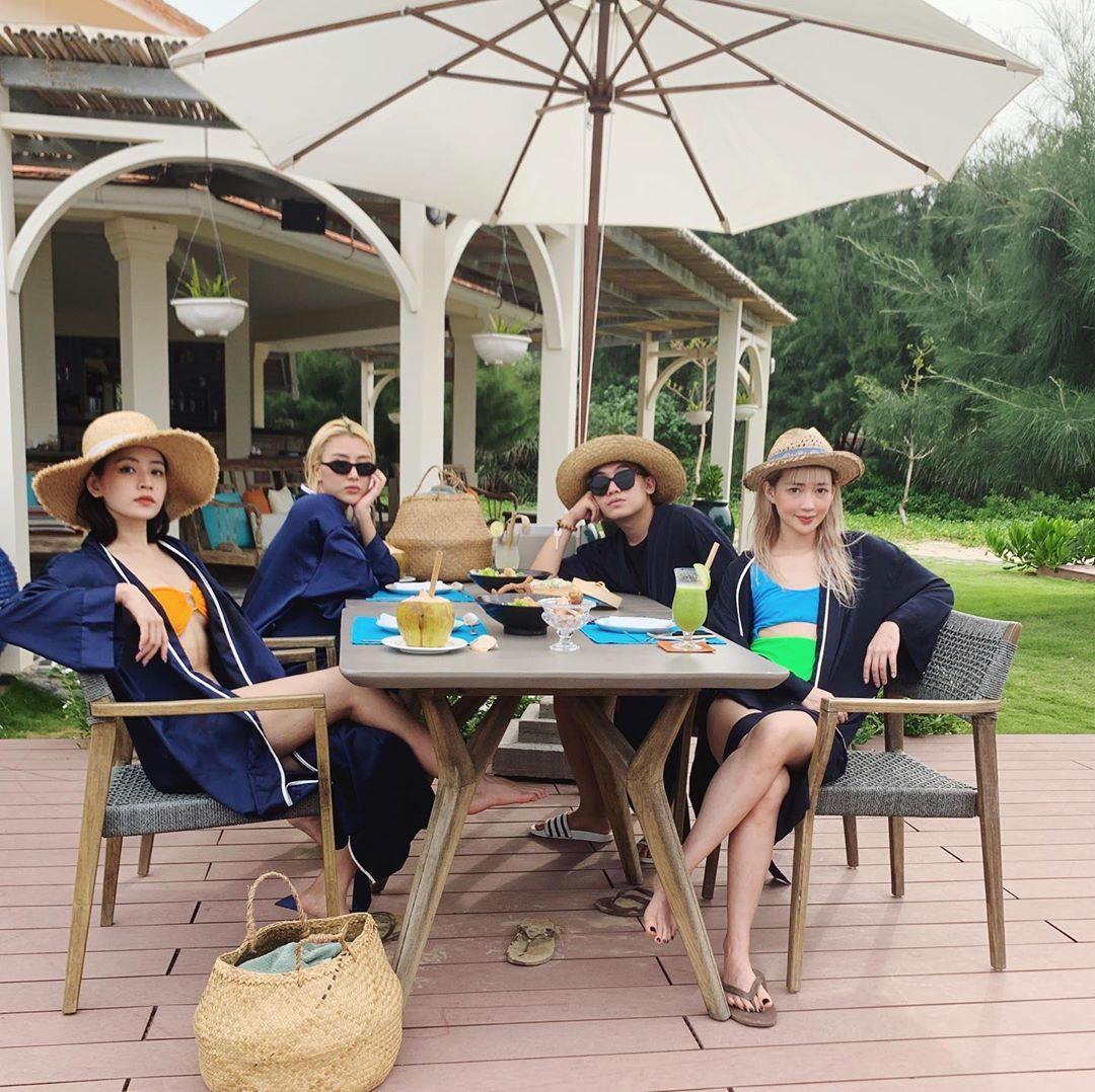Ô! Chi Pu với hội bạn thân Quỳnh Anh Shyn - Phở - Sun HT du lịch Côn Đảo 3 ngày mà toàn thấy... ăn với ăn, đến khi về vẫn còn hẹn nhau làm bữa nữa - Ảnh 26.