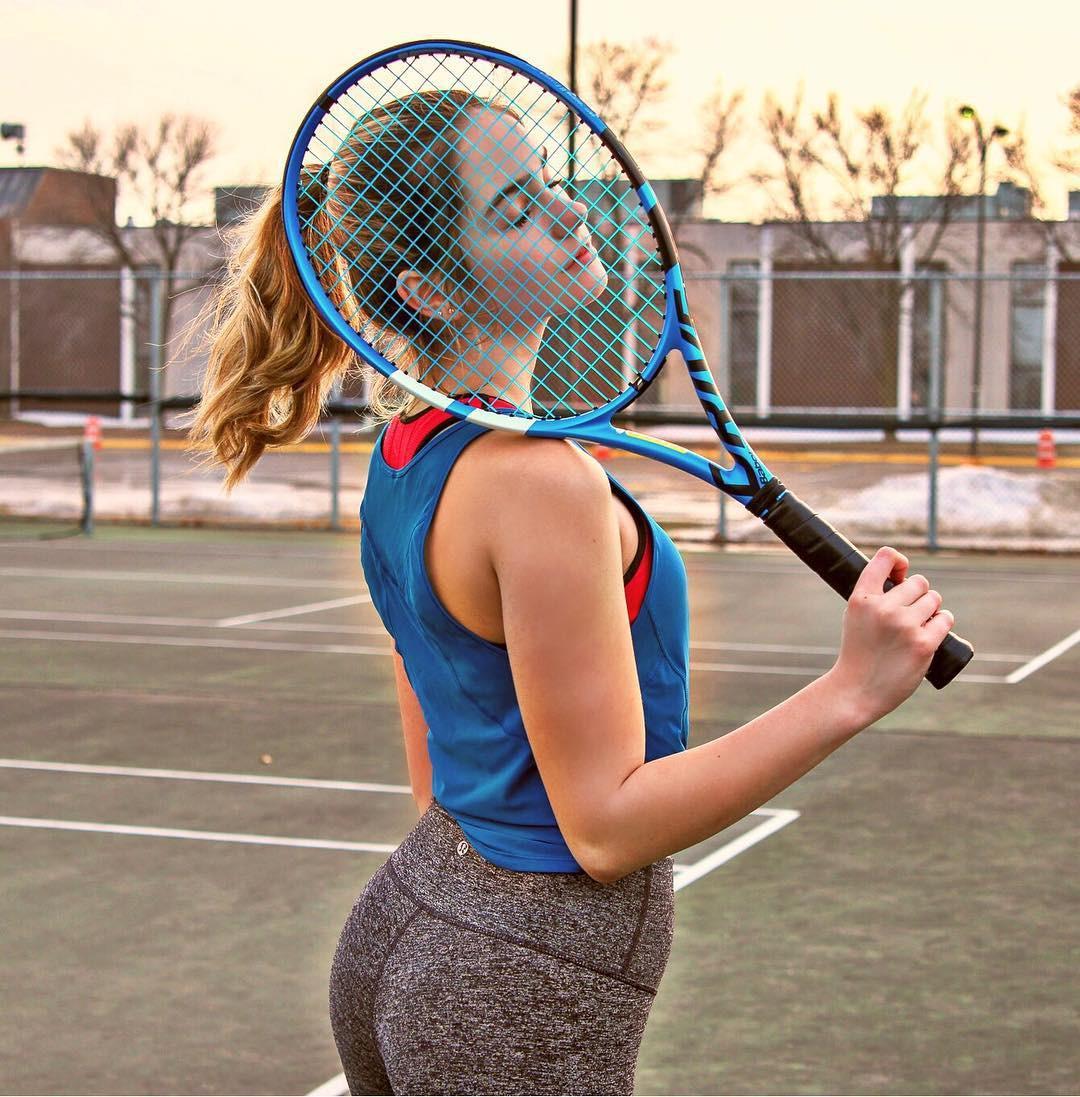 Ngỡ ngàng trước vẻ đẹp tựa thiên thần của nữ tay vợt 14 tuổi, gương mặt đủ sức thay thế tượng đài nhan sắc đình đám Maria Sharapova - Ảnh 8.