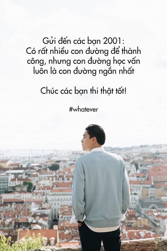 Chú Quang Đại viết tâm thư 11 điều gửi các cháu 2001 trước kỳ thi THPT Quốc gia, riêng điều thứ 10 ai cũng biết nhưng không ai làm theo - Ảnh 1.
