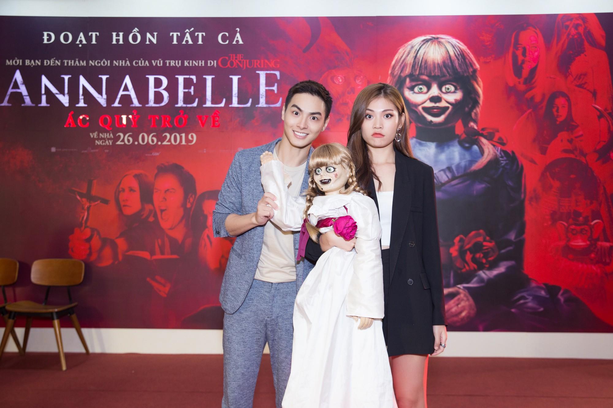 Clip Fan Việt xem Annabelle: Mong em Beo đem binh đoàn tàn sát hết gia đình đó đi dùm! - Ảnh 17.