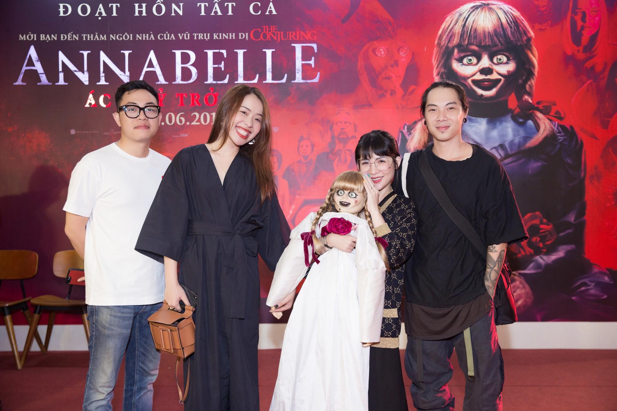 Clip Fan Việt xem Annabelle: Mong em Beo đem binh đoàn tàn sát hết gia đình đó đi dùm! - Ảnh 16.