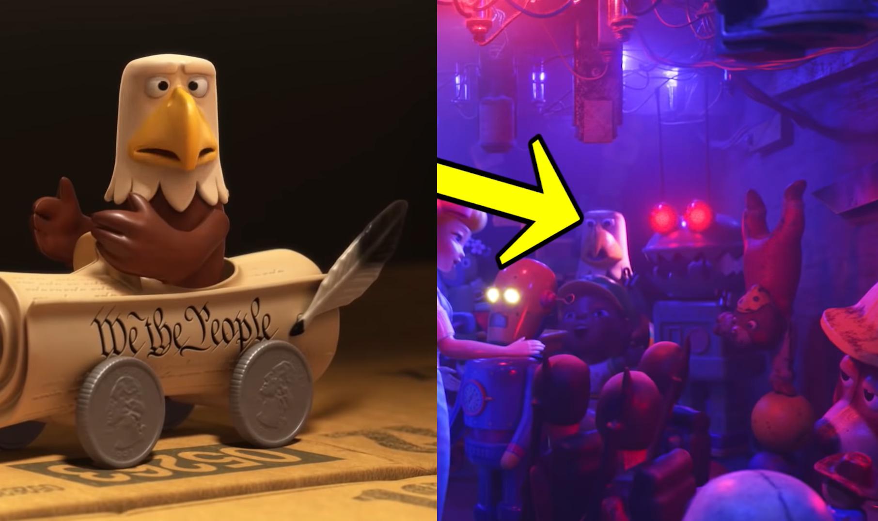 40 bí mật thú vị được giấu kĩ trong Toy Story 4 chỉ ai tinh mắt lắm mới thấy - Ảnh 24.