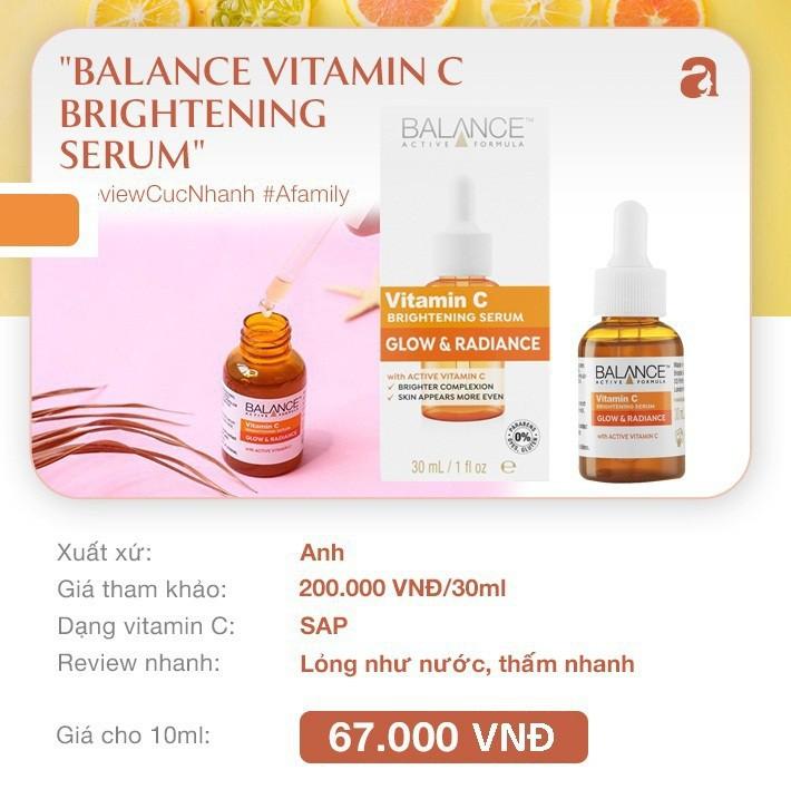 """7 loại serum vitamin C ngừa nám da và chống lão hóa giá dưới 350k mà chị em nào cũng cần trong công cuộc """"chống già"""" - Ảnh 1."""