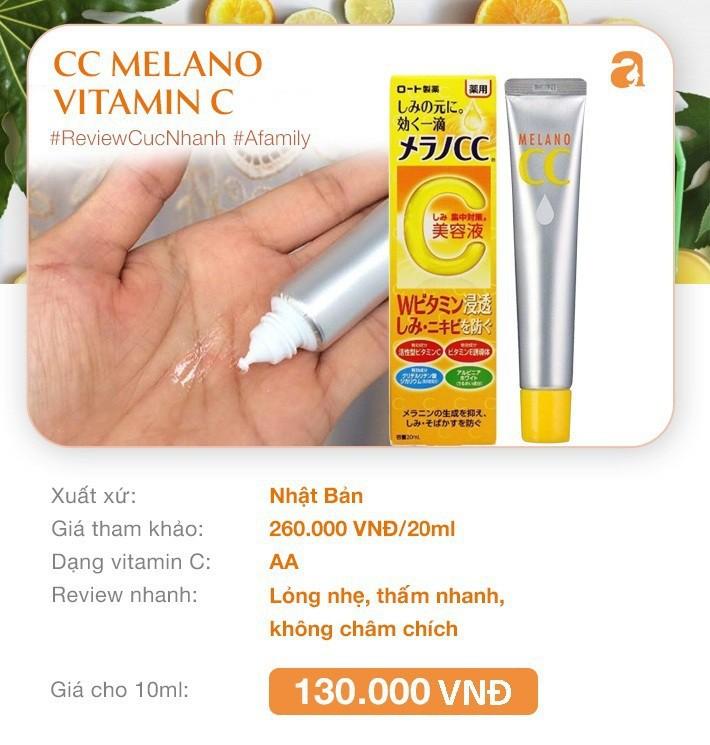 """7 loại serum vitamin C ngừa nám da và chống lão hóa giá dưới 350k mà chị em nào cũng cần trong công cuộc """"chống già"""" - Ảnh 2."""