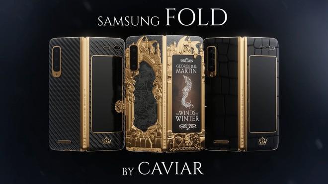 Đây là Galaxy Fold phiên bản Game of Thrones cực chất và chát: Đắt gấp 4 lần bản thường - Ảnh 2.