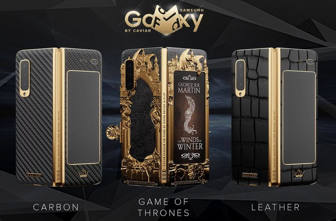 Đây là Galaxy Fold phiên bản Game of Thrones cực chất và chát: Đắt gấp 4 lần bản thường - Ảnh 1.
