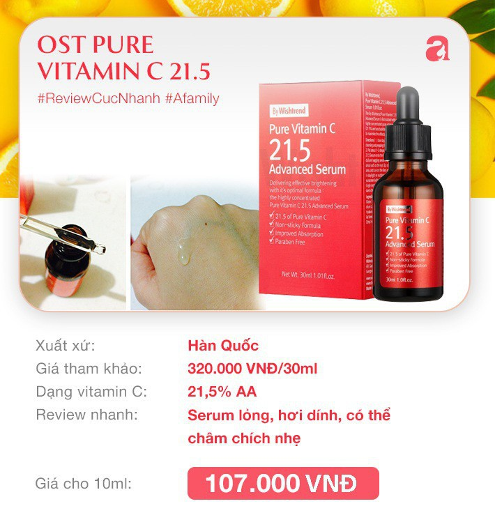 """7 loại serum vitamin C ngừa nám da và chống lão hóa giá dưới 350k mà chị em nào cũng cần trong công cuộc """"chống già"""" - Ảnh 5."""
