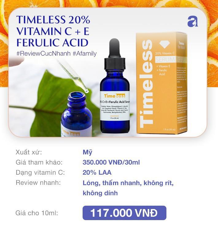 """7 loại serum vitamin C ngừa nám da và chống lão hóa giá dưới 350k mà chị em nào cũng cần trong công cuộc """"chống già"""" - Ảnh 7."""