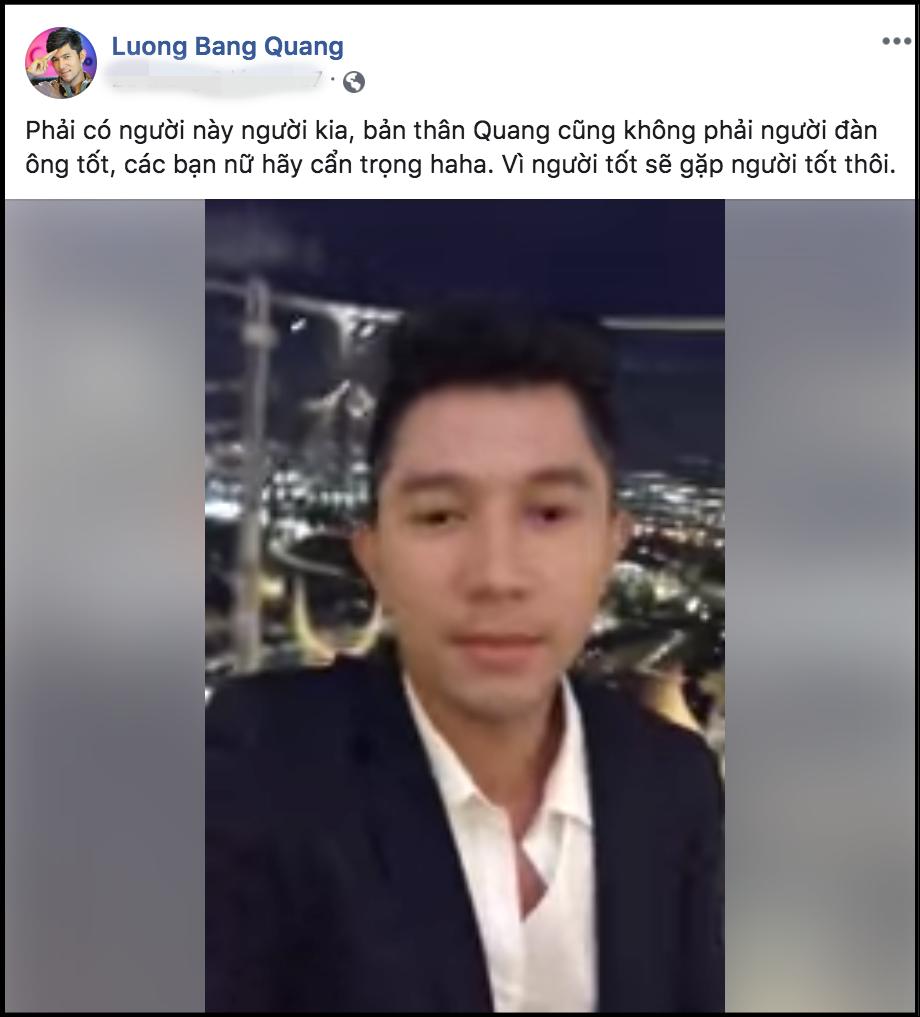 Bị tình cũ Ngân 98 tố ngoại tình tại nhà, Lương Bằng Quang liên tục có phản ứng gây tranh cãi - Ảnh 4.
