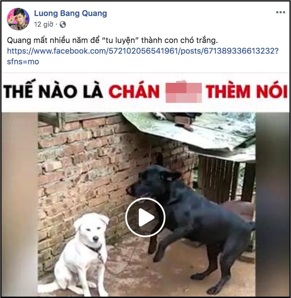 Bị tình cũ Ngân 98 tố ngoại tình tại nhà, Lương Bằng Quang liên tục có phản ứng gây tranh cãi - Ảnh 2.