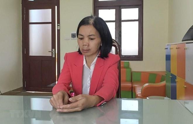Vụ nữ sinh giao gà bị sát hại ở Điện Biên: Vợ đối tượng Bùi Văn Công hết thời hạn tạm giam, bị cấm đi khỏi nơi cư trú - Ảnh 1.
