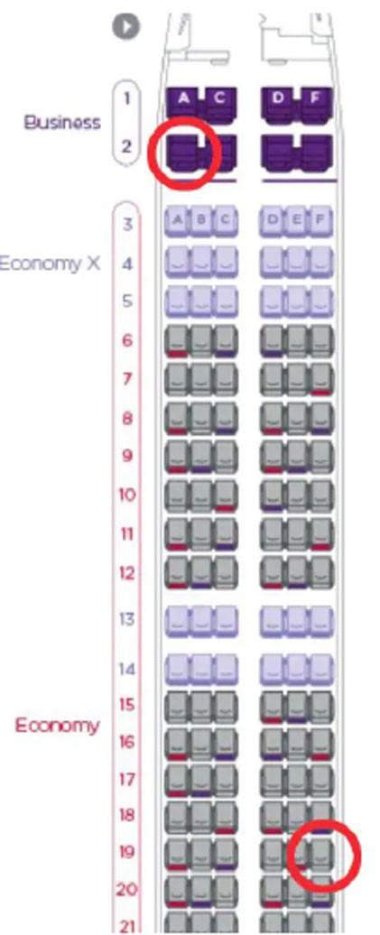 """Đi máy bay nhiều nhưng bạn có biết lý do hàng ghế 2A và 19F luôn """"đắt khách"""" nhất trong mỗi chuyến bay chưa? - Ảnh 2."""