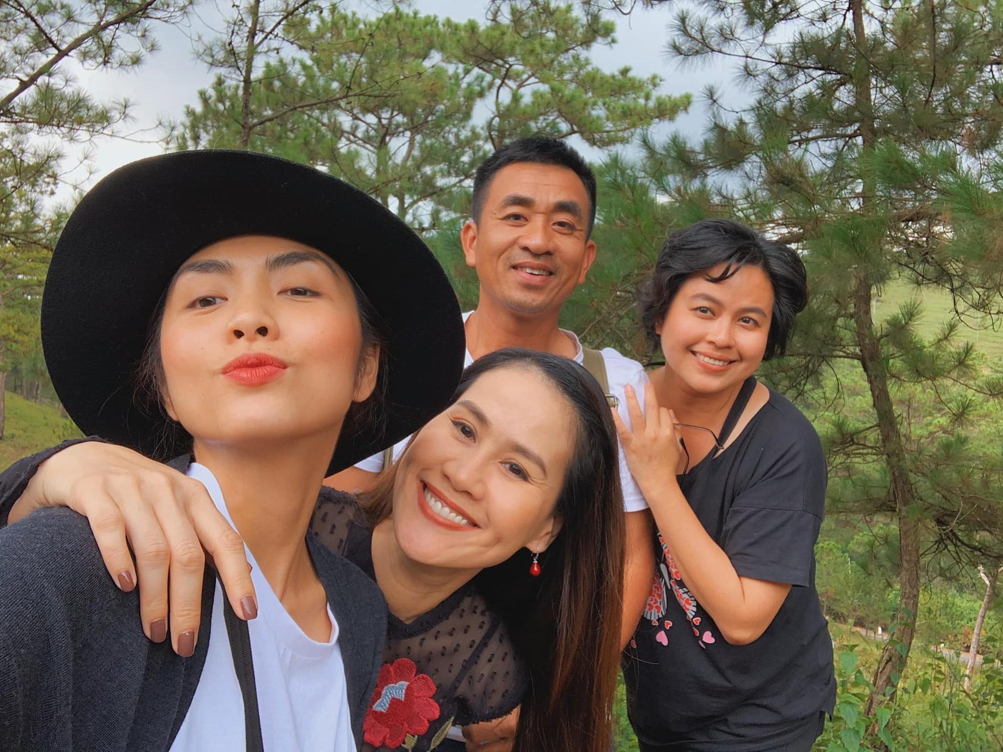 Hà Tăng rủ ông xã Louis Nguyễn lên tận đoàn phim ở Đà Lạt để thăm Thân Thúy Hà chỉ vì một lý do hết sức đơn giản - Ảnh 2.