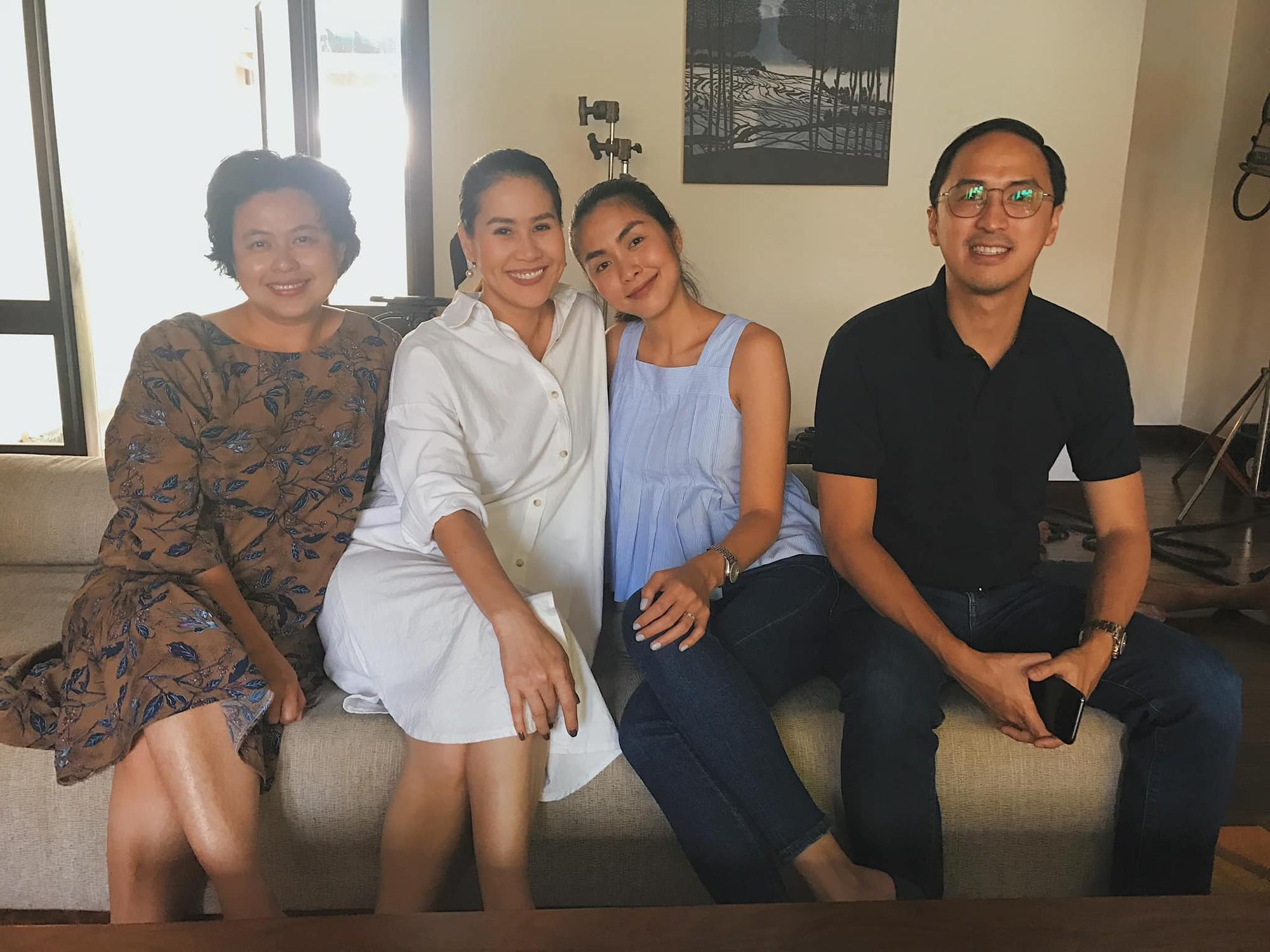 Hà Tăng rủ ông xã Louis Nguyễn lên tận đoàn phim ở Đà Lạt để thăm Thân Thúy Hà chỉ vì một lý do hết sức đơn giản - Ảnh 1.