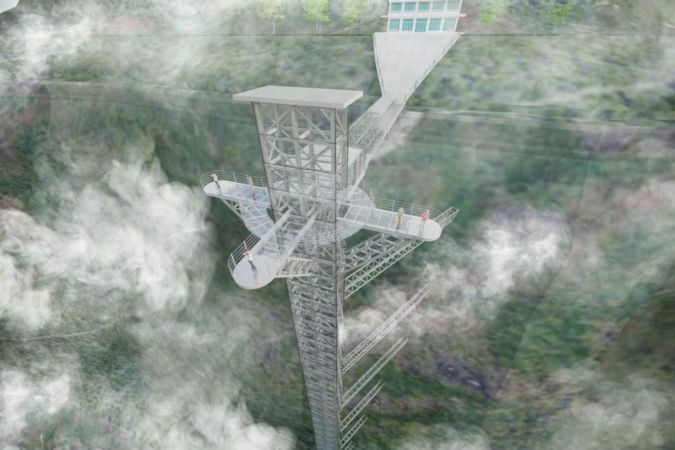 Hot: Cầu kính cao 500m treo vách núi gần Sa Pa có tên cầu kính Rồng Mây sẽ mở bán vé vào tháng 7 này - Ảnh 4.