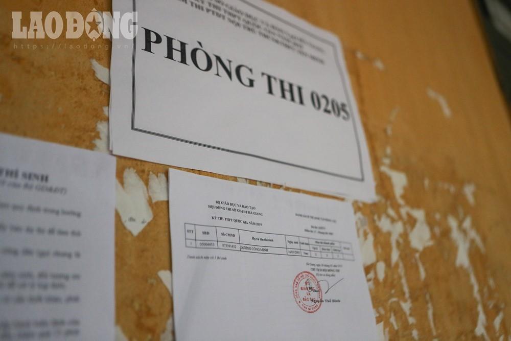 Phía sau chuyện thí sinh một mình một phòng thi ở Hà Giang - Ảnh 2.