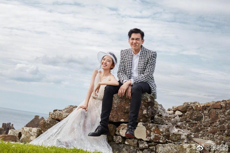 Bộ ảnh cưới tràn ngập hạnh phúc và nụ cười tít mắt của cặp đôi Tây Du Ký trước giờ G được tiết lộ - Ảnh 1.