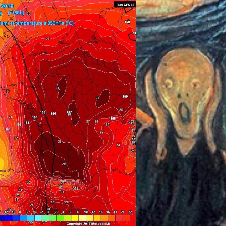 Nhìn vào bản đồ nhiệt của châu Âu lúc này là đủ để ai cũng run sợ: Giống hệt chiếc đầu lâu tử thẩn - Ảnh 3.