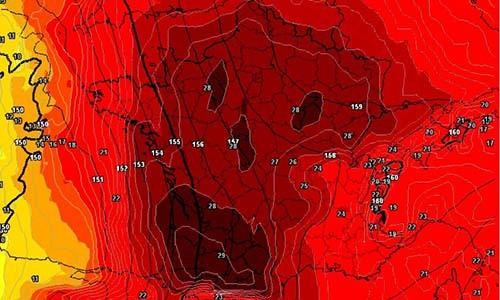 Nhìn vào bản đồ nhiệt của châu Âu lúc này là đủ để ai cũng run sợ: Giống hệt chiếc đầu lâu tử thẩn - Ảnh 2.