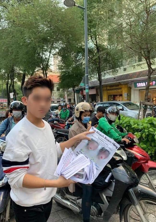 Tranh cãi chuyện cô gái bị in hình lên tờ rơi dán khắp Sài Gòn, chủ shop lên tiếng: Tức vì nhiều lần bị bom hàng nên làm vậy để răn đe! - Ảnh 3.