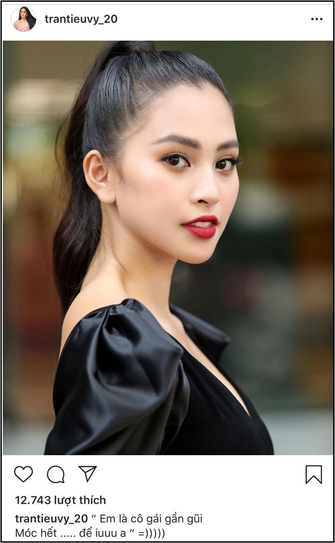 Mới đăng 2 câu thả thính đã bị antifan chấn chỉnh, Hoa hậu Tiểu Vy gây chú ý vì lần đầu phá lệ đáp trả cực gắt - Ảnh 1.