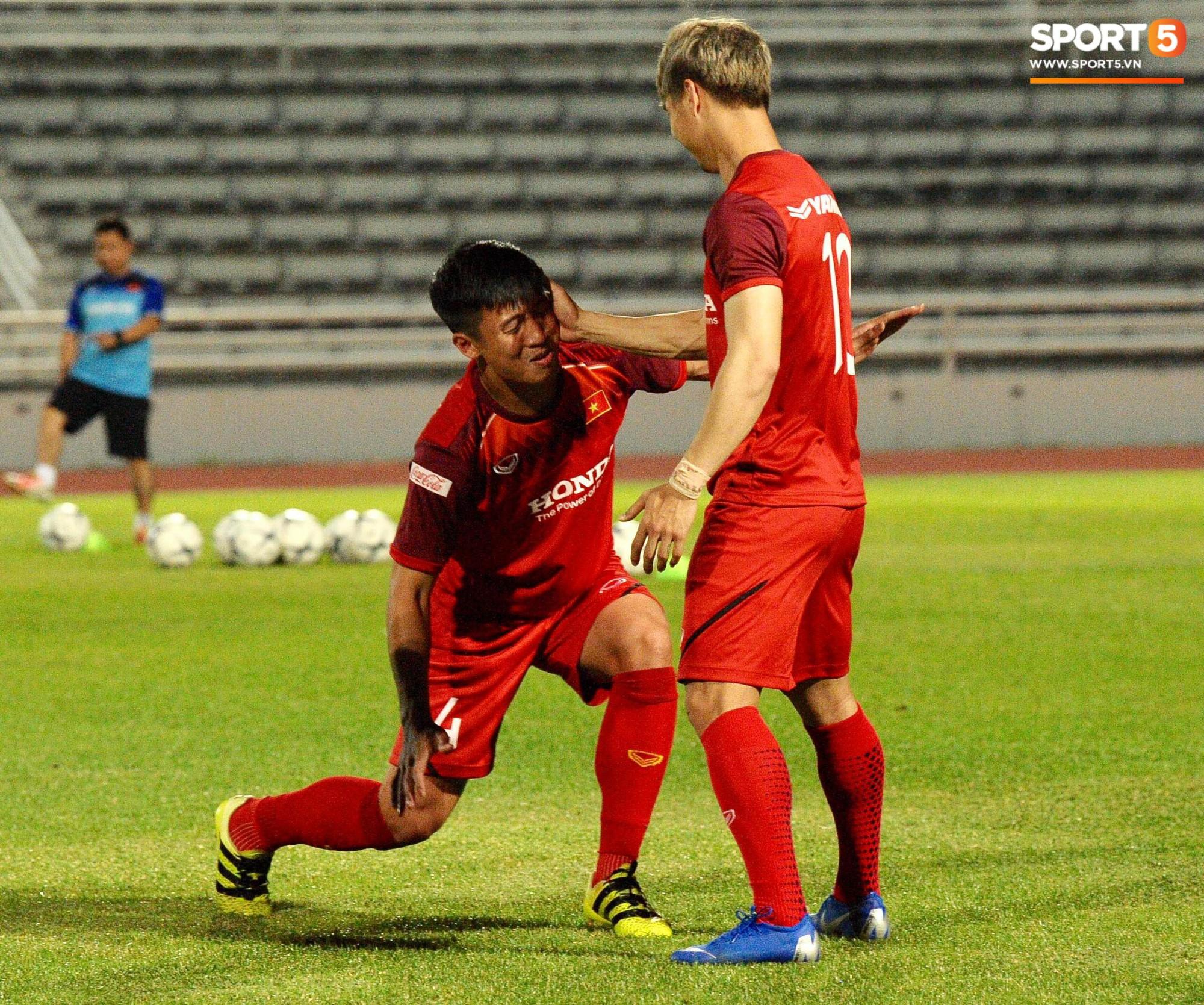 Xuân Trường táng Đức Huy không trượt phát nào trong buổi tập trước trận gặp Thái Lan - Ảnh 7.