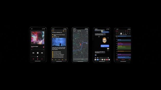 iOS 13 chính thức ra mắt: Có Dark Mode, mở app nhanh gấp đôi, bàn phím Swipe, hỗ trợ AirPods và Homepod tốt hơn - Ảnh 3.