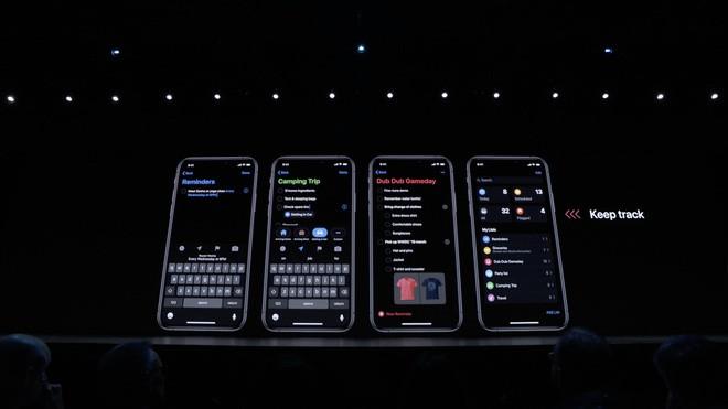 iOS 13 chính thức ra mắt: Có Dark Mode, mở app nhanh gấp đôi, bàn phím Swipe, hỗ trợ AirPods và Homepod tốt hơn - Ảnh 22.