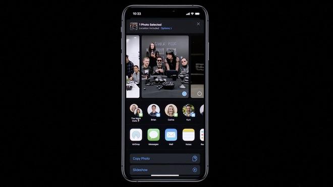 iOS 13 chính thức ra mắt: Có Dark Mode, mở app nhanh gấp đôi, bàn phím Swipe, hỗ trợ AirPods và Homepod tốt hơn - Ảnh 9.