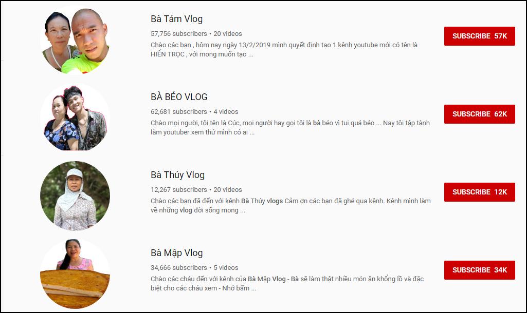Tìm thử Bà X Vlog trên YouTube: Choáng toàn tập với hàng chục kết quả hiện lên trong 1 nốt nhạc! - Ảnh 2.