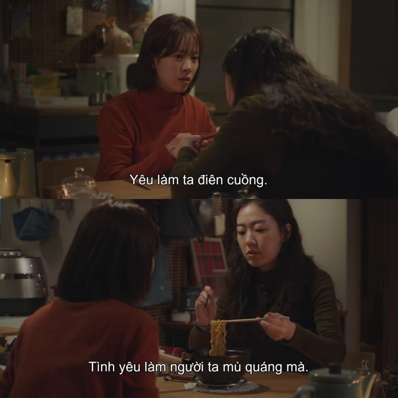 1001 câu thoại nhói lòng trong Đêm Xuân của Jung Hae In: Em ghét hôn nhân hay là ghét anh? - Ảnh 2.