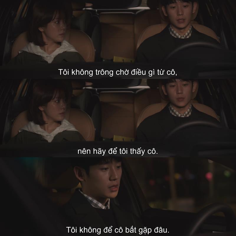 1001 câu thoại nhói lòng trong Đêm Xuân của Jung Hae In: Em ghét hôn nhân hay là ghét anh? - Ảnh 13.