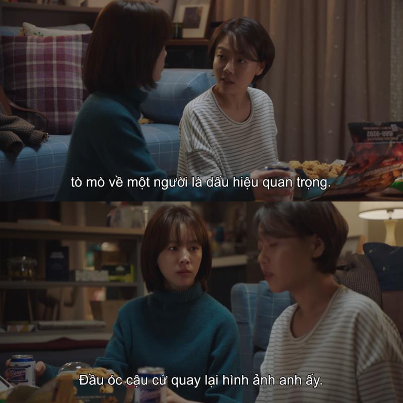 1001 câu thoại nhói lòng trong Đêm Xuân của Jung Hae In: Em ghét hôn nhân hay là ghét anh? - Ảnh 3.