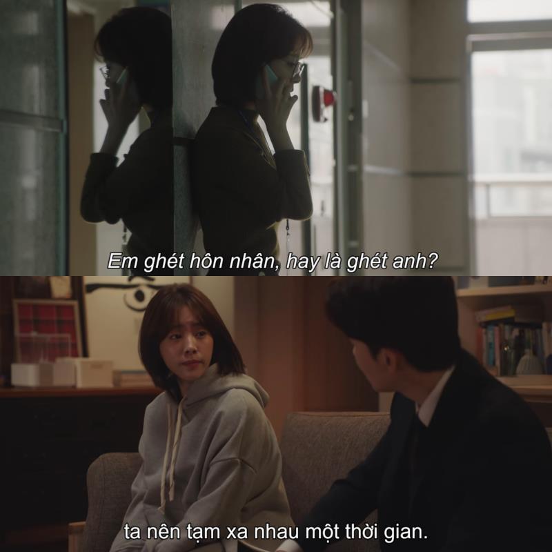 1001 câu thoại nhói lòng trong Đêm Xuân của Jung Hae In: Em ghét hôn nhân hay là ghét anh? - Ảnh 5.