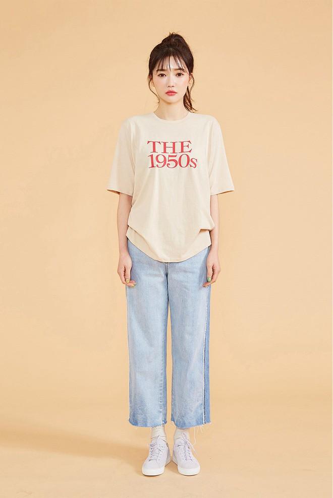 2 kiểu áo phông đơn giản, mặc lên dễ đẹp để các nàng luôn trẻ trung trong mắt đồng nghiệp - Ảnh 7.