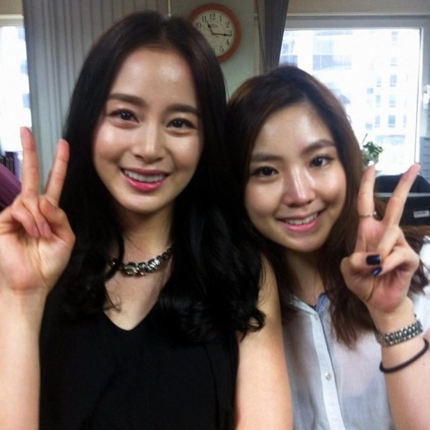 Ai ngờ nữ hoàng đẹp không góc chết Kim Tae Hee cũng từng có thời gây tá hỏa vì gương mặt khó đỡ thế này - Ảnh 5.