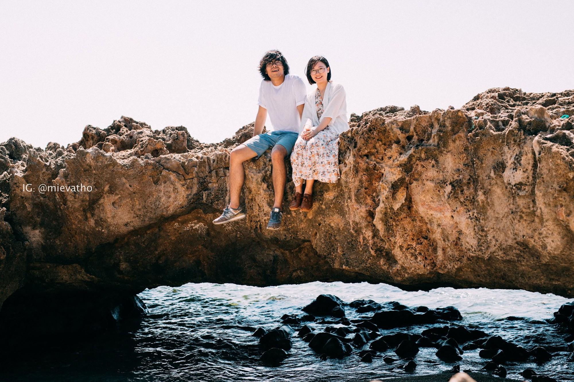 Bộ ảnh du lịch Ninh Thuận của cặp đôi đến từ Hà Nội khiến dân tình thích thú: Mới nhìn thôi đã thấy chill phết! - Ảnh 5.