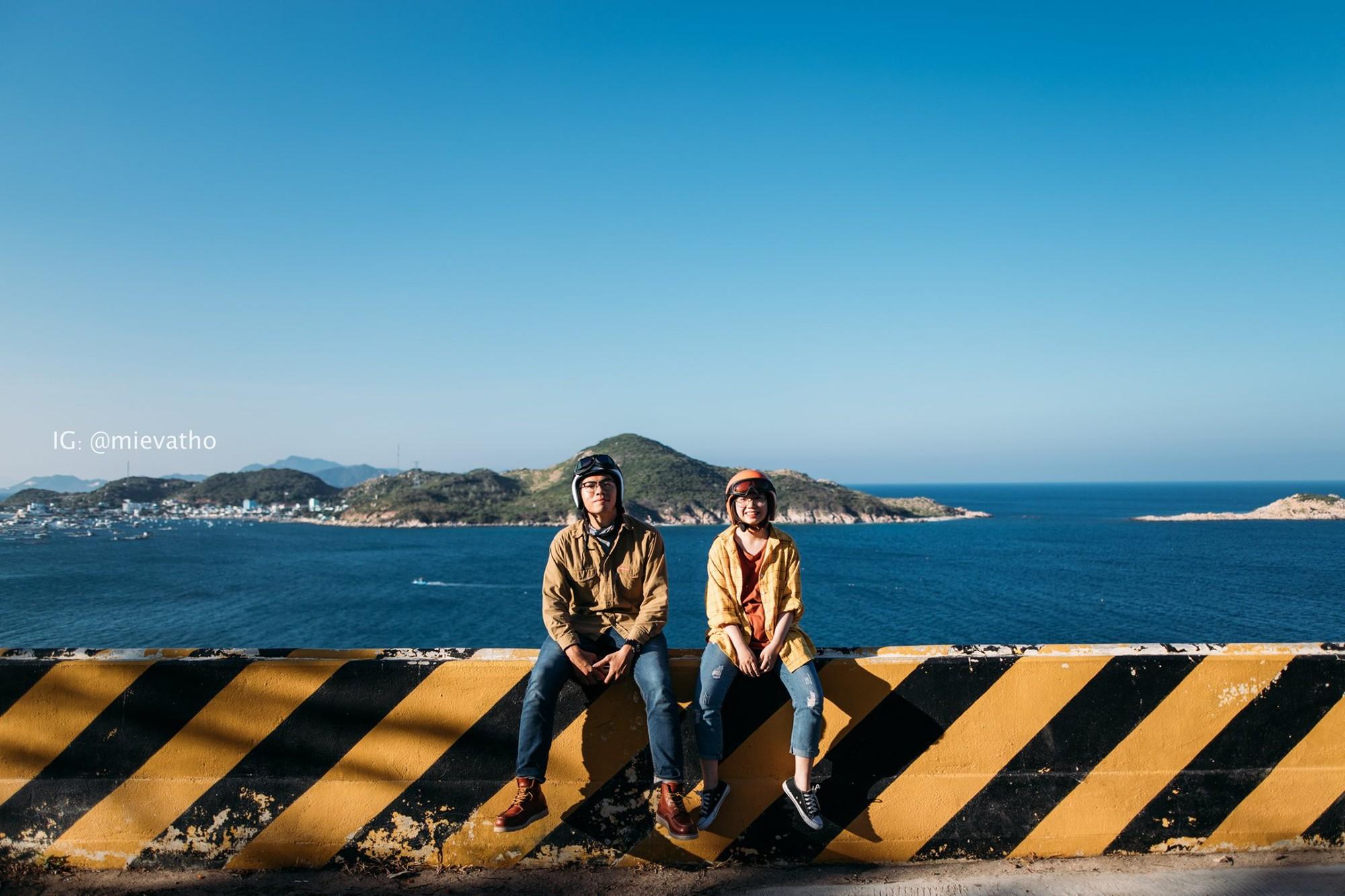 Bộ ảnh du lịch Ninh Thuận của cặp đôi đến từ Hà Nội khiến dân tình thích thú: Mới nhìn thôi đã thấy chill phết! - Ảnh 1.